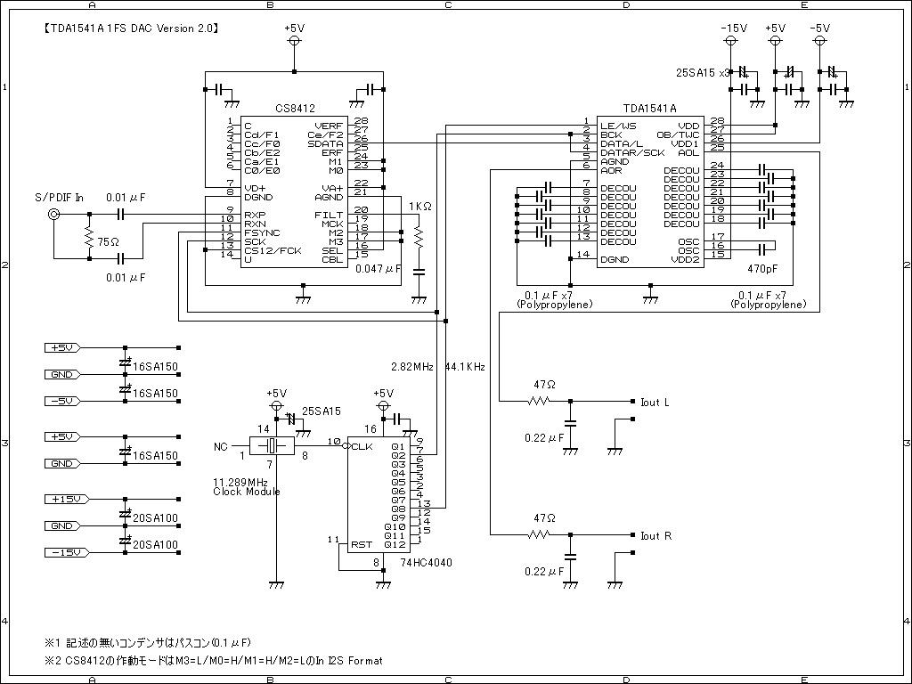 Adc4dac 20w Audio Amplifier Circuit Using Tda1552q Http Pcwatchimpresscojp Docs 2004 0428 Nitda1541a 1fs V20