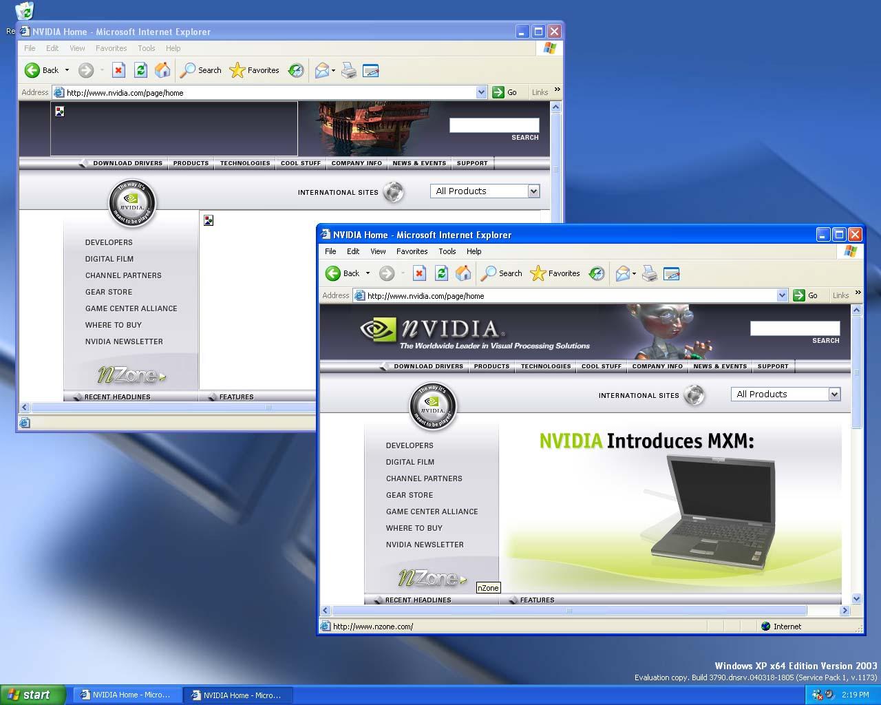 Скачать драйвер nvidia windows xp x64