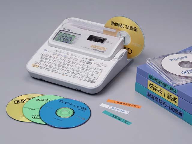 カシオ cd dvd ラベル印刷可能な ネームランド