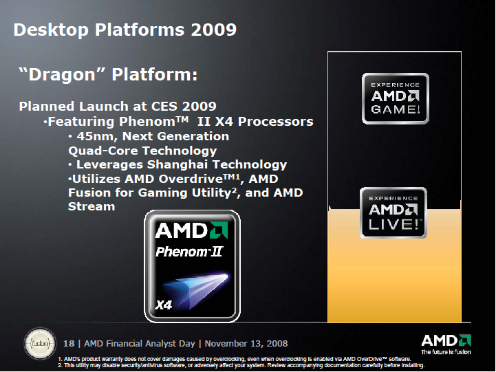 So what's the news about AMD K10? - Ars Technica OpenForum