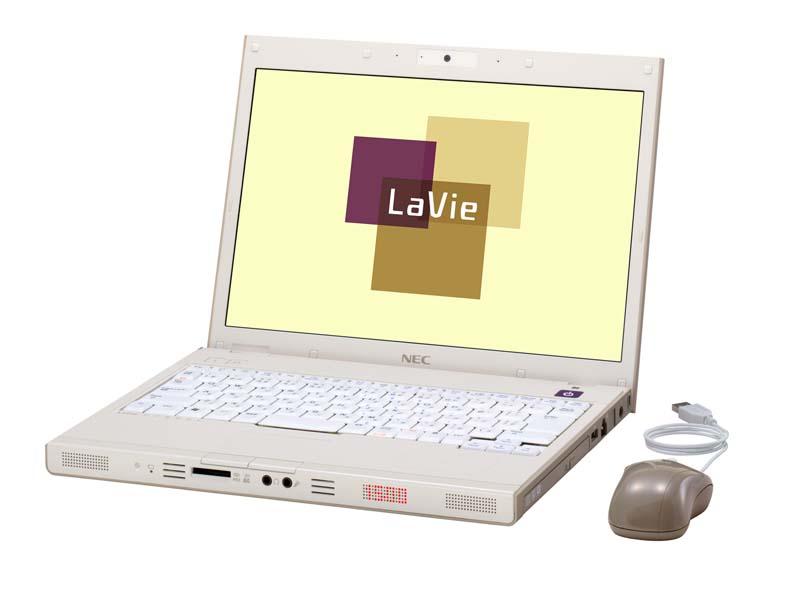 LaVie N モノトーン LaVie N モカレイヤード LaVie... NEC、手書きタッ