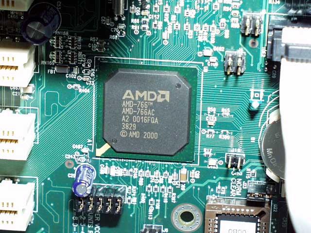 ... サウスブリッジAMD-761 AMD-760の
