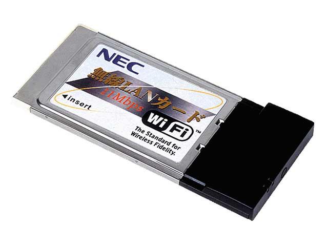 NEC、プリンタ内蔵用無線LANカードなど  NEC、プリンタ内蔵用無線LA