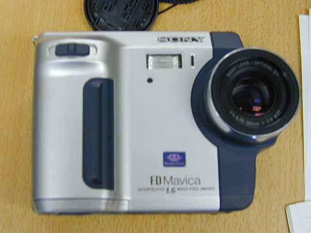 Sony mvc fd92