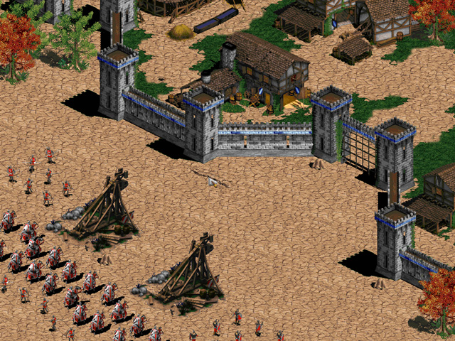 Скриншот к игре Age of Empires II: The Age of Kings (PlayStation 2). Age
