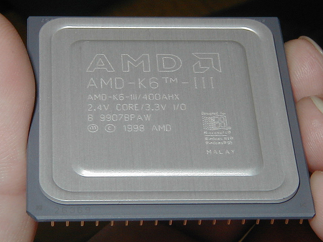 AMD、K6-III/400を発売