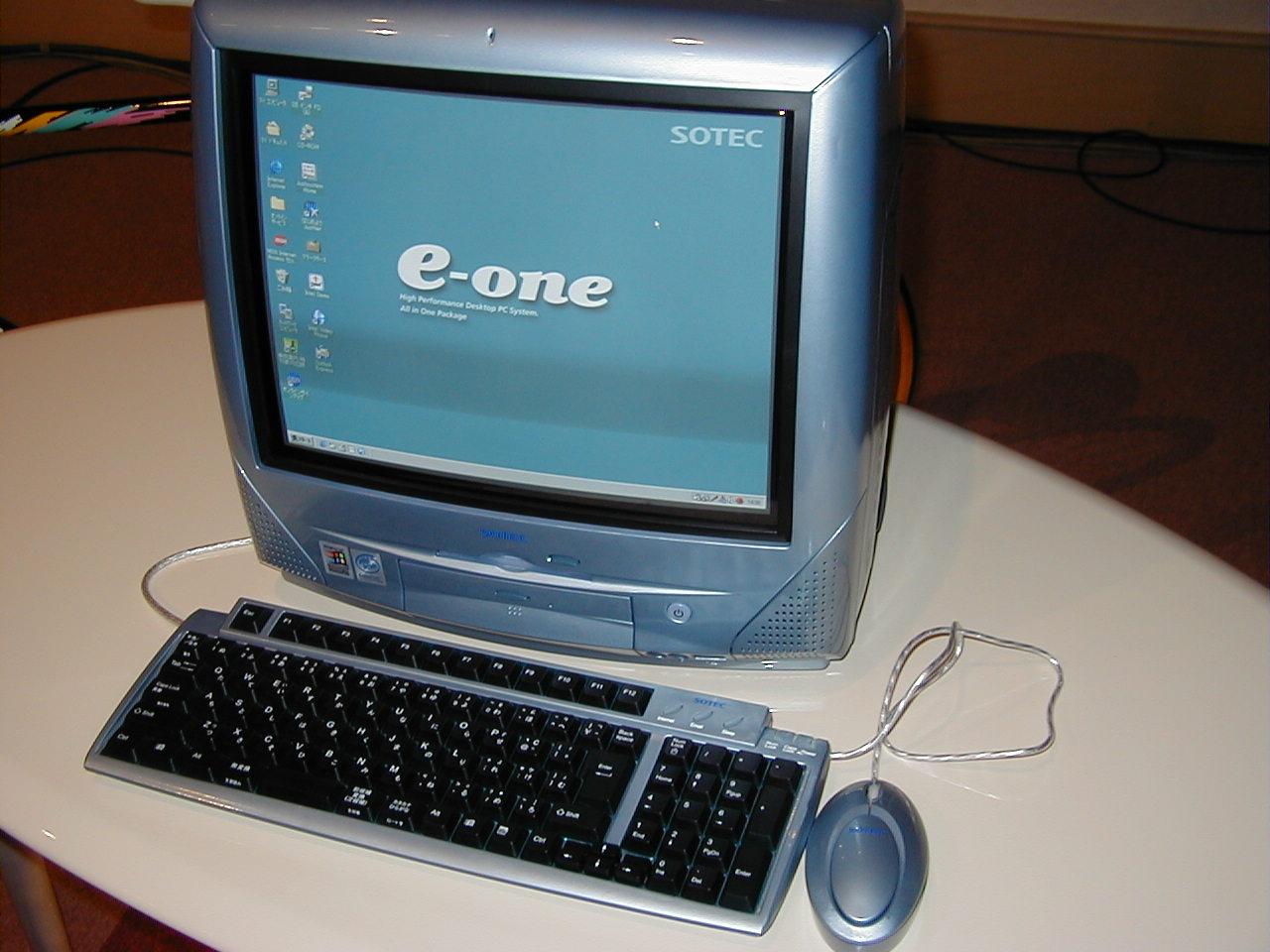 e-one、銀パソになって再登場