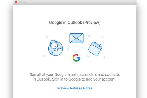 outlook 2016 for macにgoogleカレンダーの同期機能が追加 pc watch