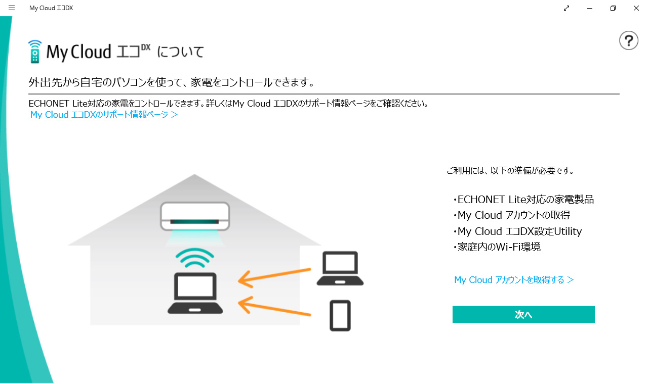 My Cloud エコDX