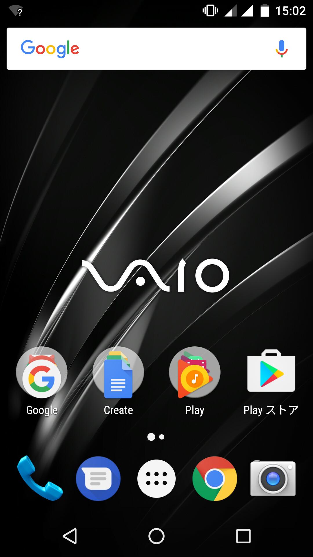 画像 Hothotレビュー 本日発売の Vaio Phone A の使い勝手を確かめる Lte 3gのdsdsに対応した2万円半ばのandroidスマホ 18 34 Pc Watch