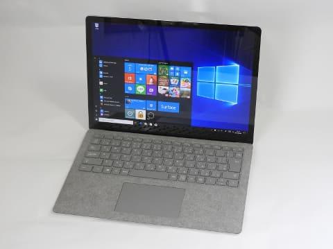 hothotレビュー windows 10 s搭載のモバイルノートpc surface laptop