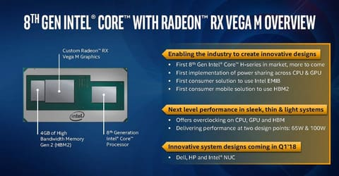 イベントレポート】Intel、AMD GPUを1パッケージに統合した新CPU