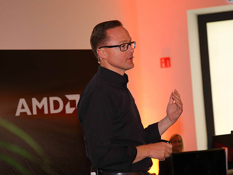 AMDのJim Anderson氏(Senior Vice President and General Manager, Computing and Graphics Business Group, AMD)