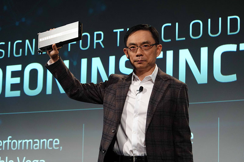 David Wang氏(Senior Vice President of Engineering for the Radeon Technologies Group at AMD)