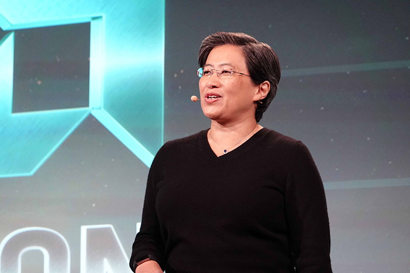 Lisa Su氏(President and Chief Executive Officer, AMD)