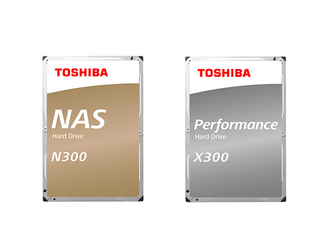 N300 NAS Hard DriveとX300 Performance Hard Drive