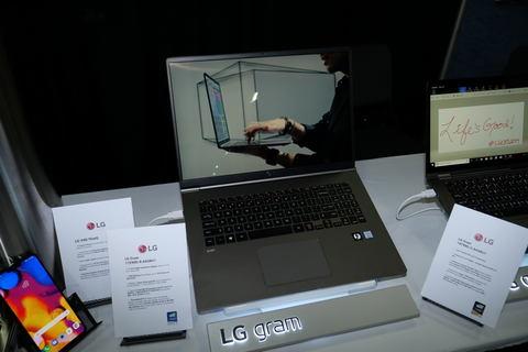 イベントレポート】LG、17型WQXGA液晶搭載で重量1,340gを実現した「gram