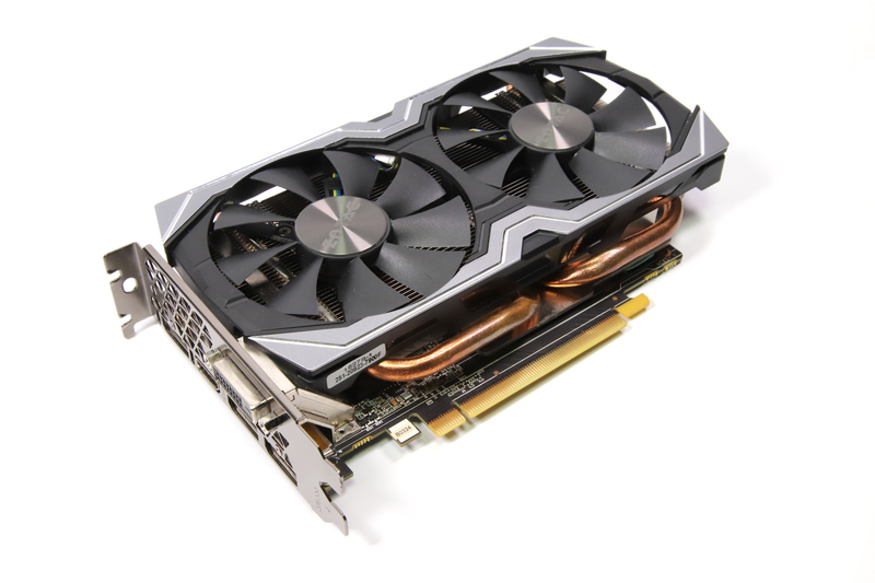 GeForce GTX 1060 6GB搭載ビデオカード「ZOTAC GeForce GTX 1060 6GB AMP Edition (ZT-P10600B-10M)」