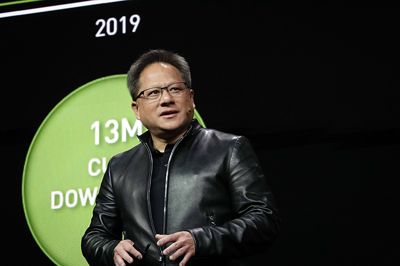 Jensen Huang(ジェンスン・フアン)氏(Founder and CEO, NVIDIA)