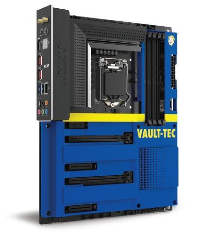 "d59b292a27 NZXT、""Vault Boy""が描かれたFallout仕様のATXケース - PC Watch"