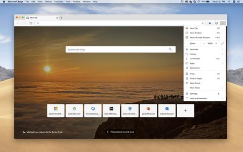 【IT】Microsoft、macOS用Edgeブラウザのアルファ版公開