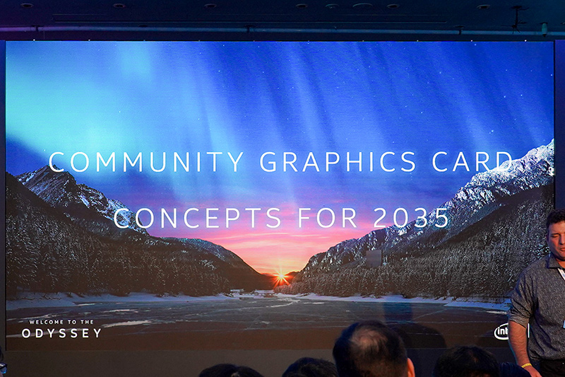COMMUNITY GRAPHICS CARD CONCEPT FOR 2035