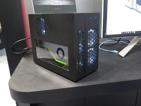 イベントレポート】SuperO、容積11LでQuadro RTX 4000搭載の
