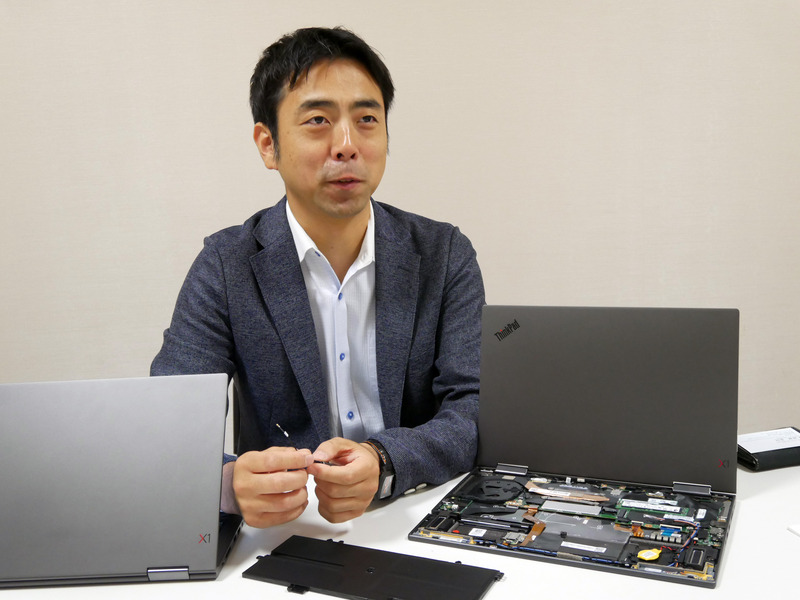 レノボ・ジャパン System Innovation Japan Dev Center Product GroupのDirector & Principal Engineerである塚本泰通氏