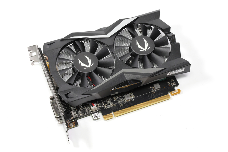 GeForce GTX 1650 SUPER搭載ビデオカード「ZOTAC GAMING GeForce GTX 1650 SUPER Twin Fan」