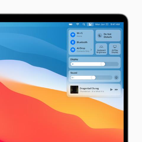 新macOS Big Sur発表。Mac OS X以降で最大のデザイン変更 - PC Watch