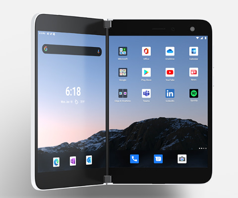 【製品】Microsoft、2画面Android端末「Surface Duo」を9月に前倒し発売