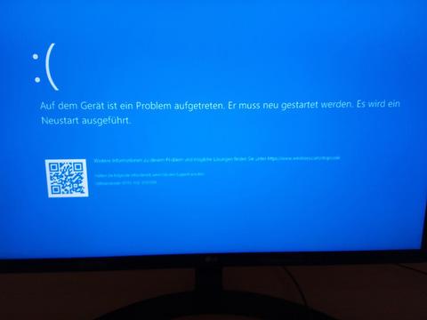 Windows10 20H2 chkdiskでシステムクラッシュ