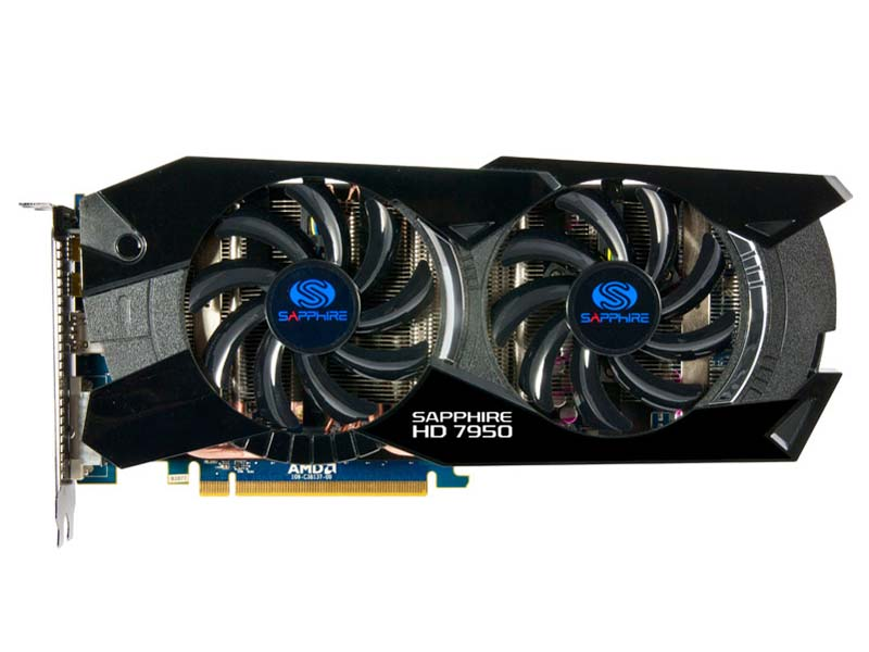 Sapphire HD7950 3G GDDR5 PCI-E HDMI/DVI-I/DUAL MINI DP OC VERSION