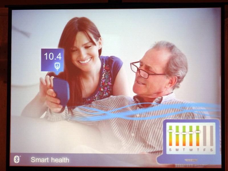 536f5970ce Bluetooth SIG、Windows 8でBluetooth 4.0をネイティブサポート(10/45). 前の画像 · 次の画像 ·  血糖値測定器に搭載し、PCでデータ管理を行なう想定