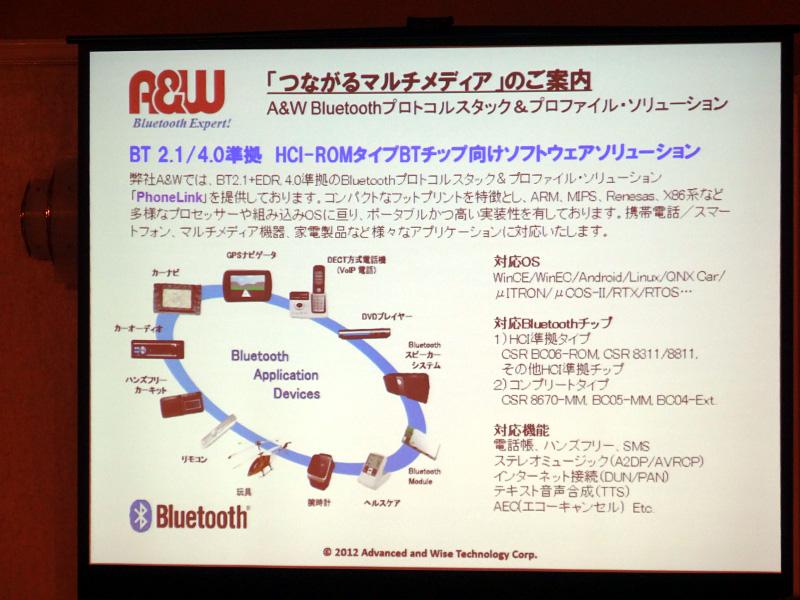 a4353f3068 Bluetooth SIG、Windows 8でBluetooth 4.0をネイティブサポート(30/45). 前の画像 · 次の画像 ·  A&Wのソリューション