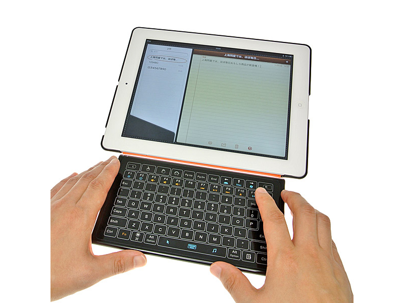 4 Evergreen release touch based Bluetooth keyboard