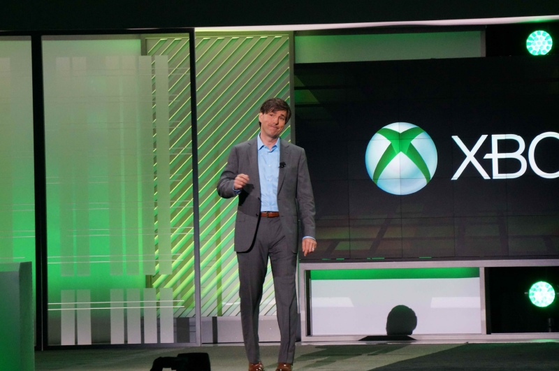 MicrosoftのDon Mattrick(ドン・マトリック)氏(President of the Interactive Entertainment Business at Microsoft)