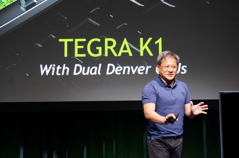 NVIDIAのJen-Hsun Huang(ジェンセン・フアン)氏(Co-founder, President and CEO)