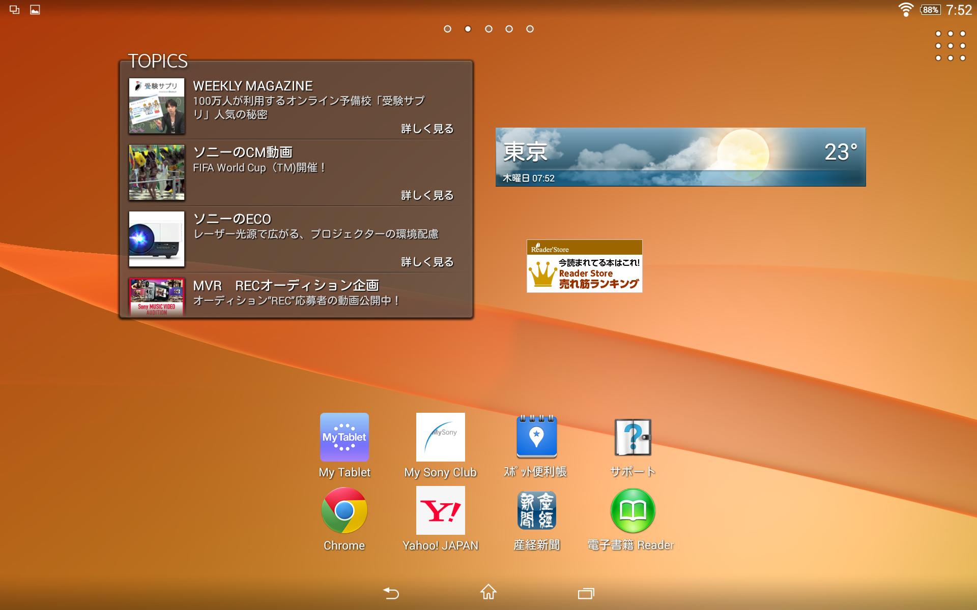 画像 西川和久の不定期コラム ソニーモバイル Xperia Z2 Tablet