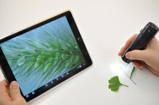 テック、iOSやAndroidで利用できるWi-Fi顕微鏡