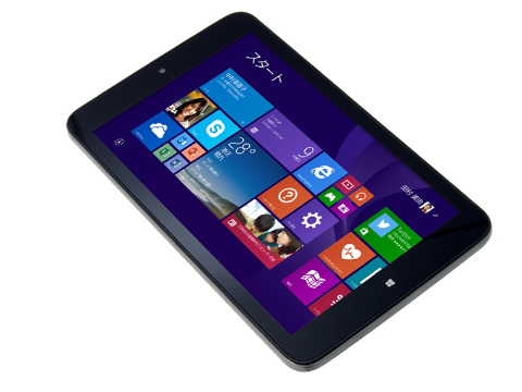 ドスパラが8インチで330gの軽量Windowsタブレットを発表…Atom、RAM2GB、ROM16GB搭載でお値段19,980円