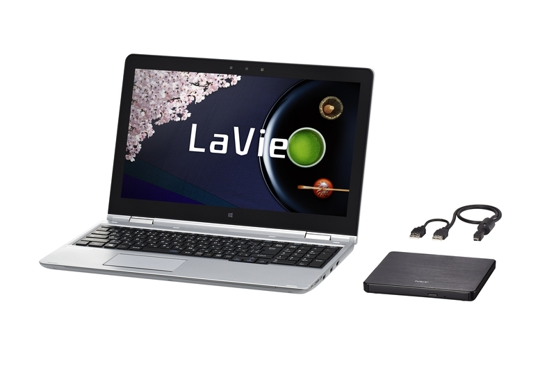 「LaVie Hybrid Advance」(HA850/AAS)