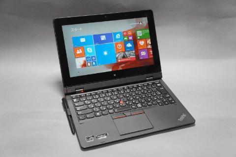 Hothotレビュー】レノボ・ジャパン「ThinkPad Helix」 ~Core M搭載の