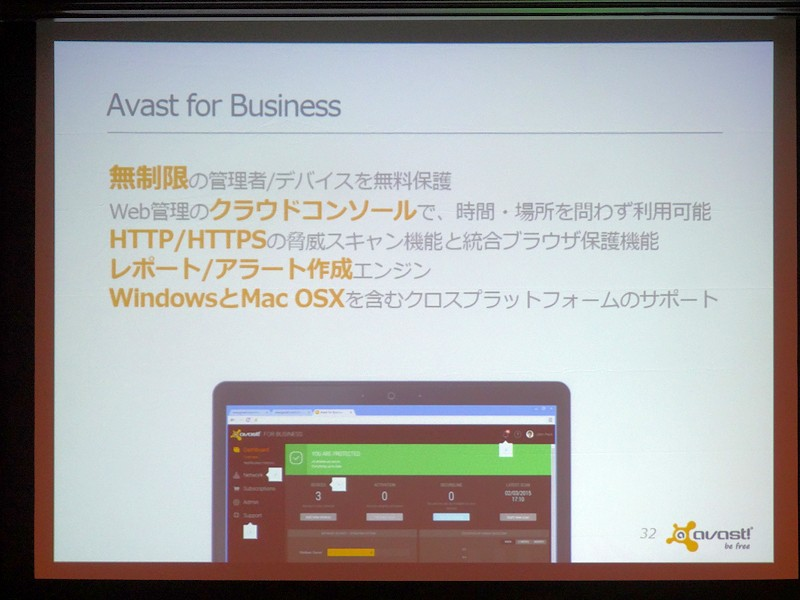 「Avast for Business」