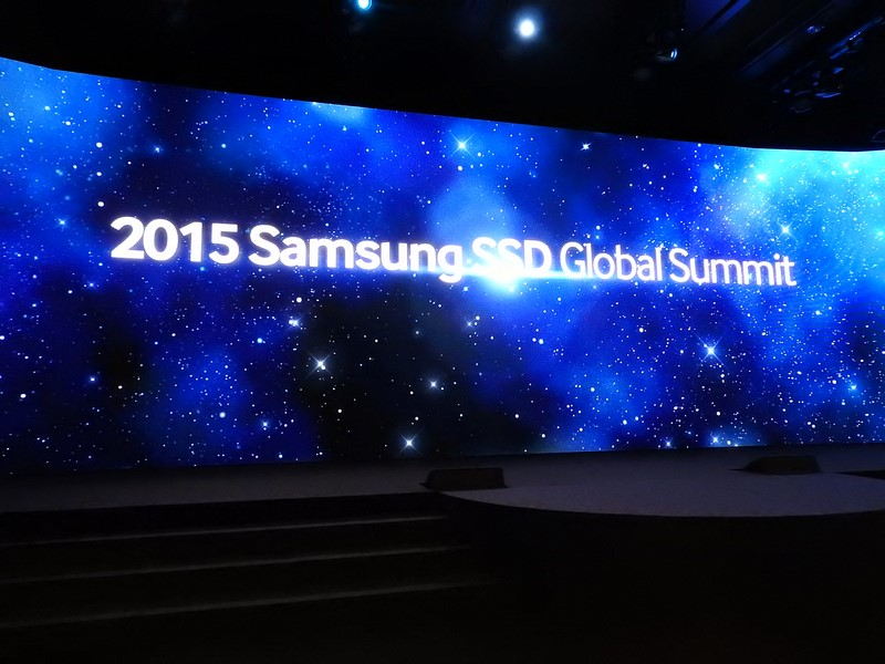 2015 Samsung SSD Global Summitは、THE SHILLAホテルの大宴会場「DYNASTY」で開催された