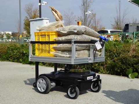 PC WatchDoog、積載重量120kgの汎用運搬ロボット「サウザー」を販売開始