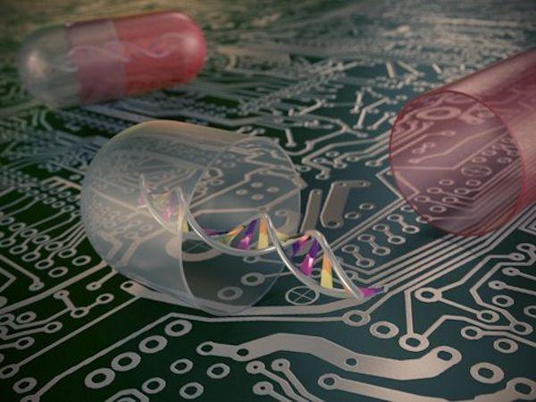 """【やじうまPC Watch】 """"DNAコンピュータ""""で体内で薬の自動投与が可能な新技術"""