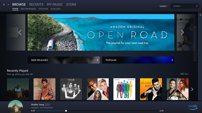 Amazon MusicアプリがWindows 10のストアに登場