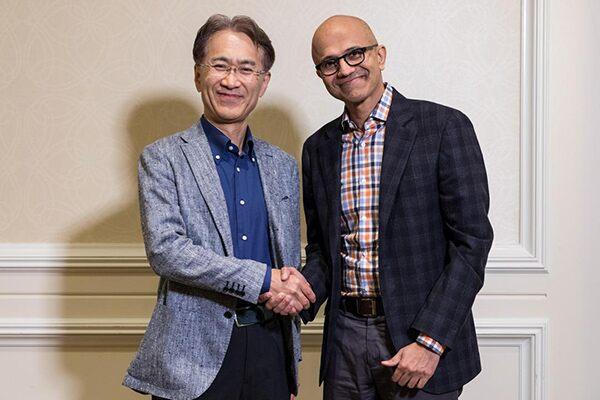 Microsoftとソニー、クラウドゲーム/エンタメ領域でタッグ