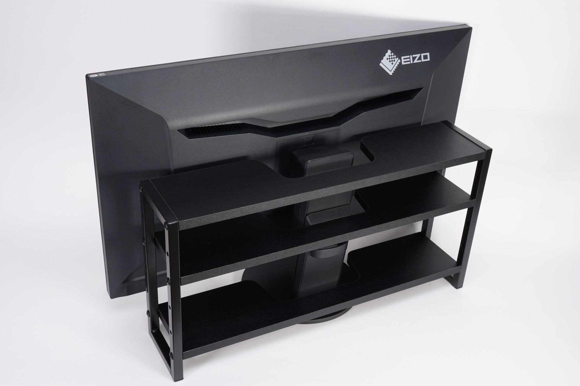 Photo of [구경꾼 미니 리뷰]ディスプレイの背面収納ラックに机がきれい! ゴチャゴチャ電源タップまたはACアダプタを正方形にまとめ – PC Watch
